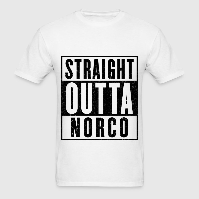 Straight Outta NORCO - Men's T-Shirt
