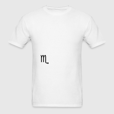Scorpio Zodiac sign and horoscope symbol Sportswear - Men's T-Shirt