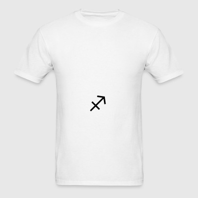 Sagittarius Zodiac Sign and Horoscope Symbol Sportswear - Men's T-Shirt