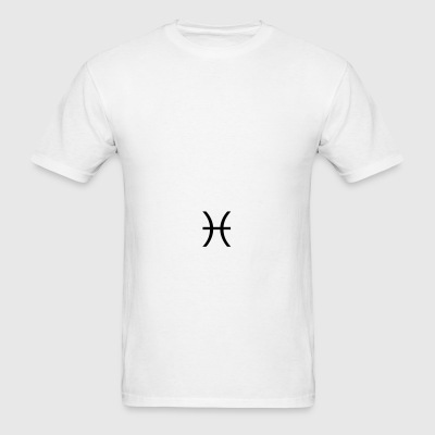 Pisces zodiac sign and horoscope symbol Sportswear - Men's T-Shirt