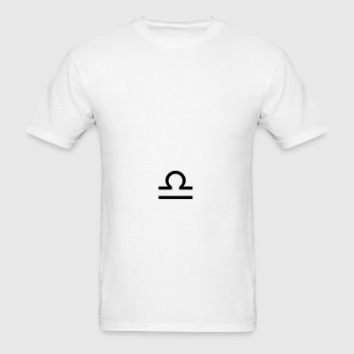 Libra zodiac signs and horoscope symbol Sportswear - Men's T-Shirt