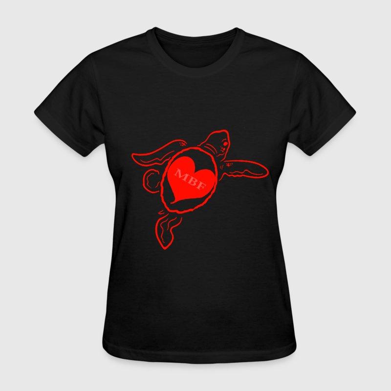 Red Turtle - Women's T-Shirt