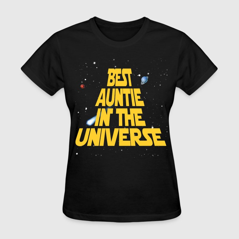 Best Aunt In The Universe Women's T-Shirts - Women's T-Shirt