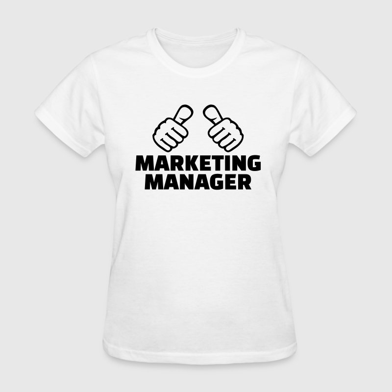 Marketing manager Women's T-Shirts - Women's T-Shirt