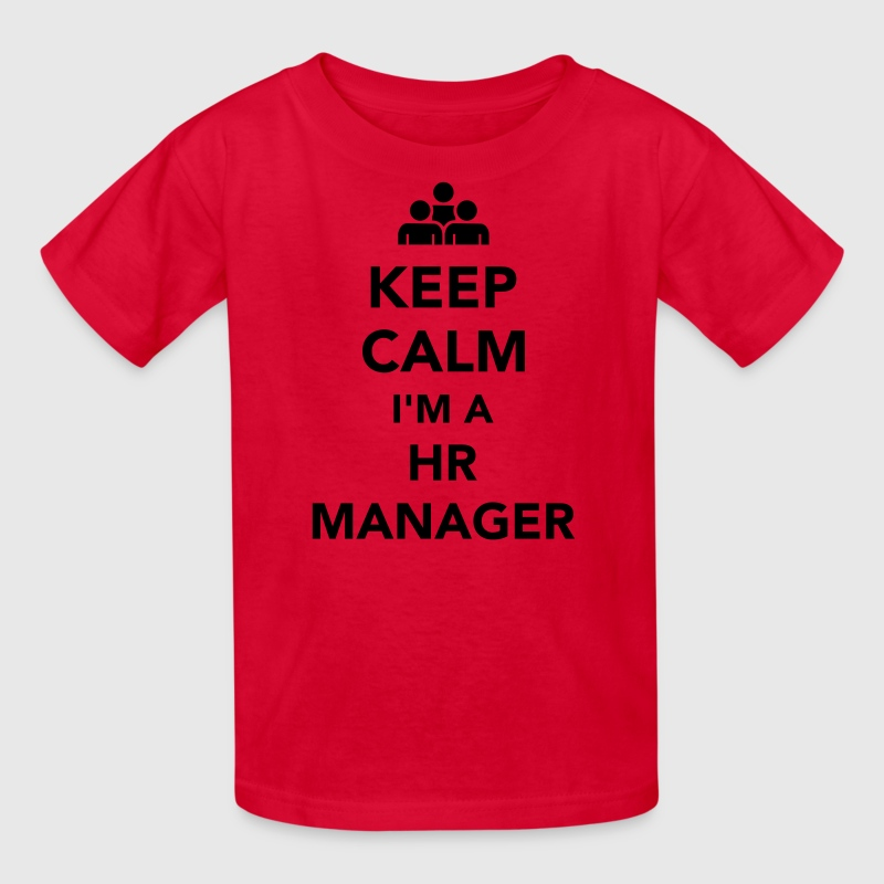 Keep calm I'm a HR Manager Kids' Shirts - Kids' T-Shirt