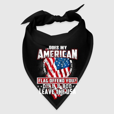 Leave the USA full color mug - Bandana