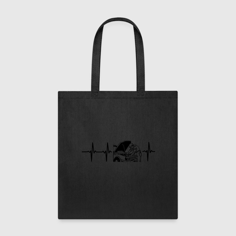 MY HEART BEATS FOR AN MECHANIC! Bags & backpacks - Tote Bag