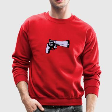 357 revolver gun Long Sleeve Shirts - Crewneck Sweatshirt