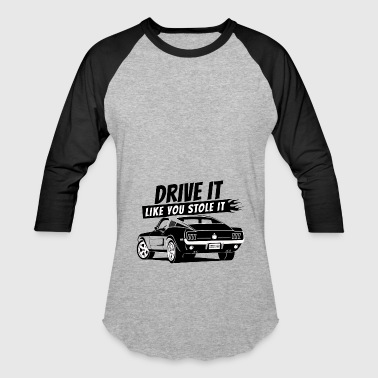 Drive it - Fastback 2 - Baseball T-Shirt