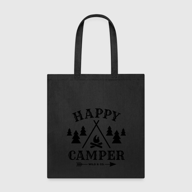 Happy Camper - Tote Bag