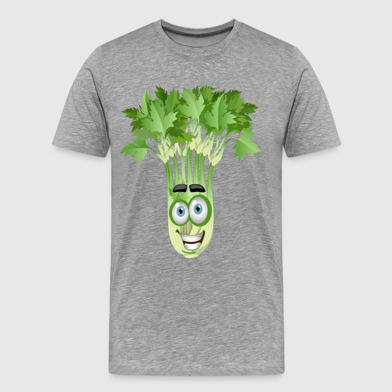 Smiley coriander cartoon image - Men's Premium T-Shirt