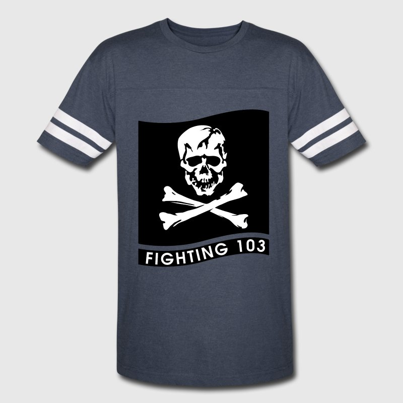 VFA-103 Jolly Rogers Jersey - Vintage Sport T-Shirt