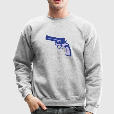 weapon revolver gun 9113 Long Sleeve Shirts - Crewneck Sweatshirt
