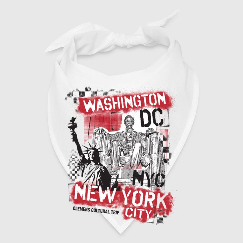 Washington DC & New York Caps - Bandana