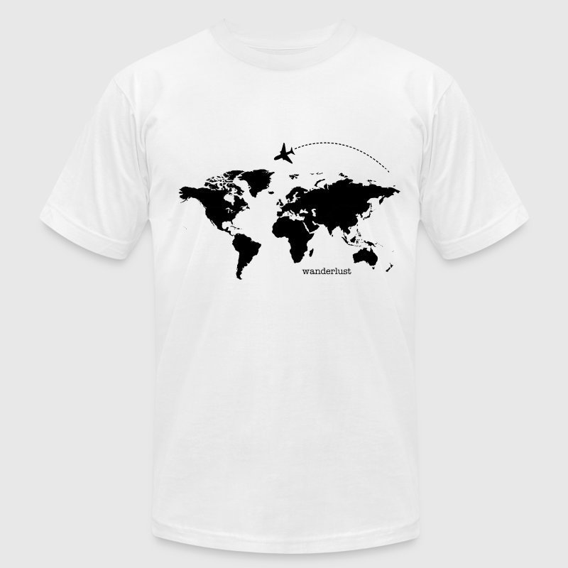 Wanderlust - Men's T-Shirt by American Apparel