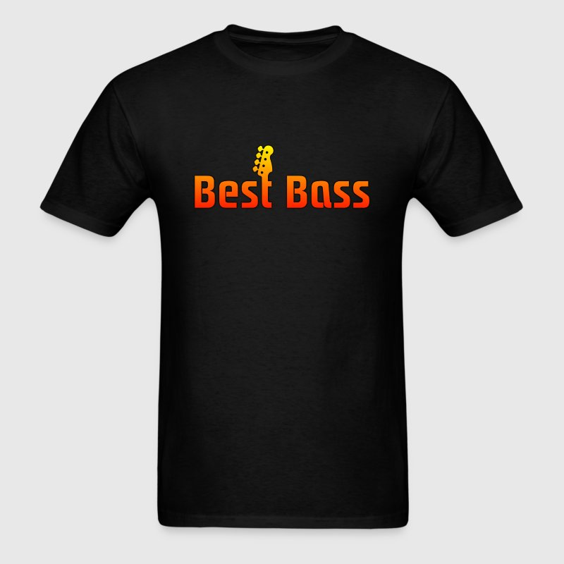 best bass colorful - Men's T-Shirt