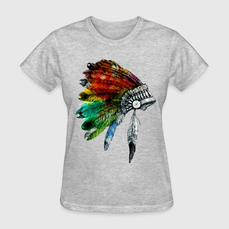 headdress full color - Women's T-Shirt