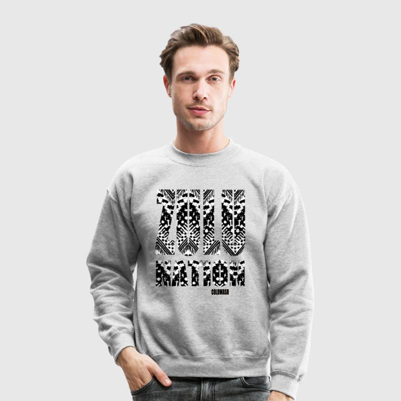 ZULU NATION Long Sleeve Shirts - Crewneck Sweatshirt