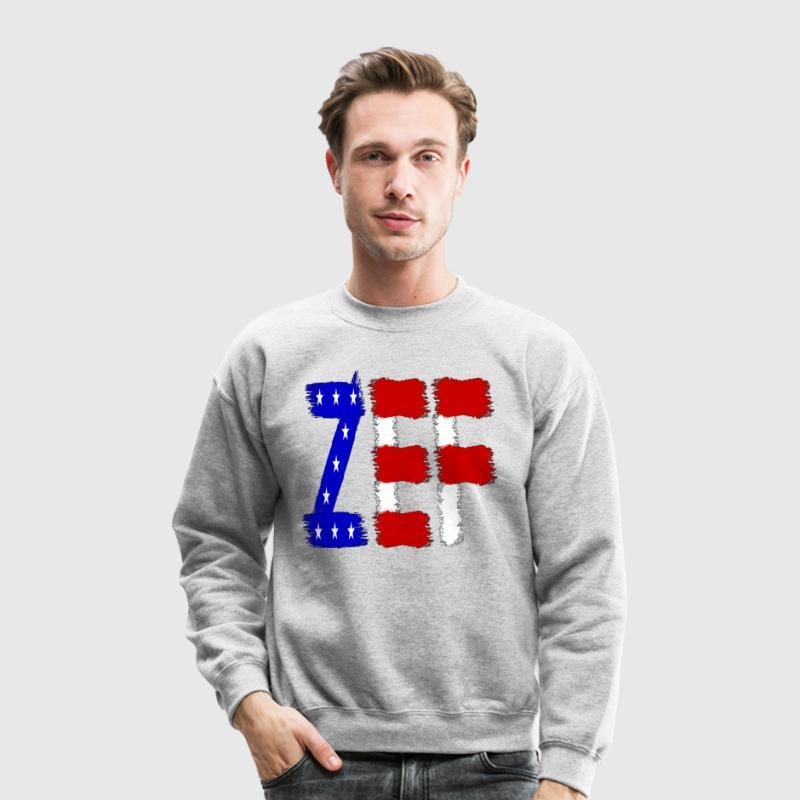 ZEF AMERICA Long Sleeve Shirts - Crewneck Sweatshirt