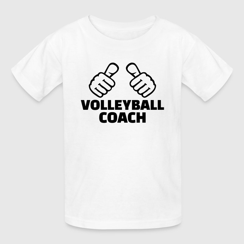 Volleyball coach Kids' Shirts - Kids' T-Shirt