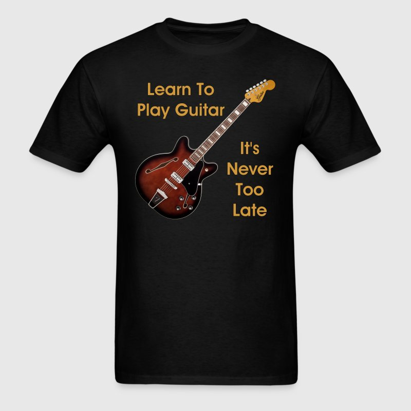 Learn Guitar T Shirt Spreadshirt