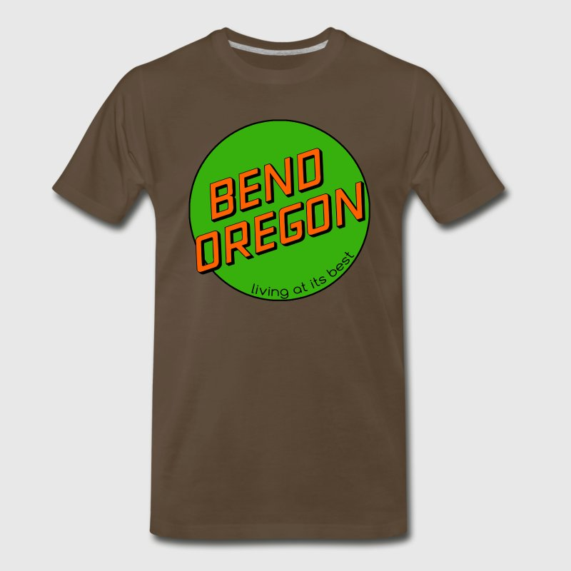 Bend Oregon Shirt - Men's Premium T-Shirt