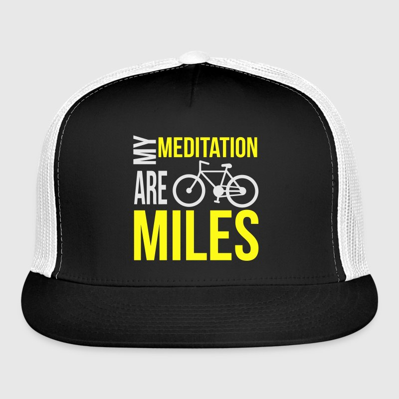 Meditation Miles Cycling Sportswear - Trucker Cap