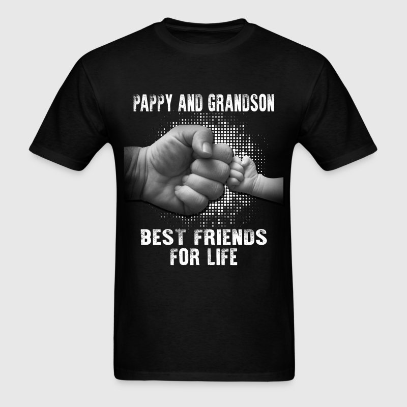 Pappy And Grandson Best Friends For Life T-Shirts - Men's T-Shirt