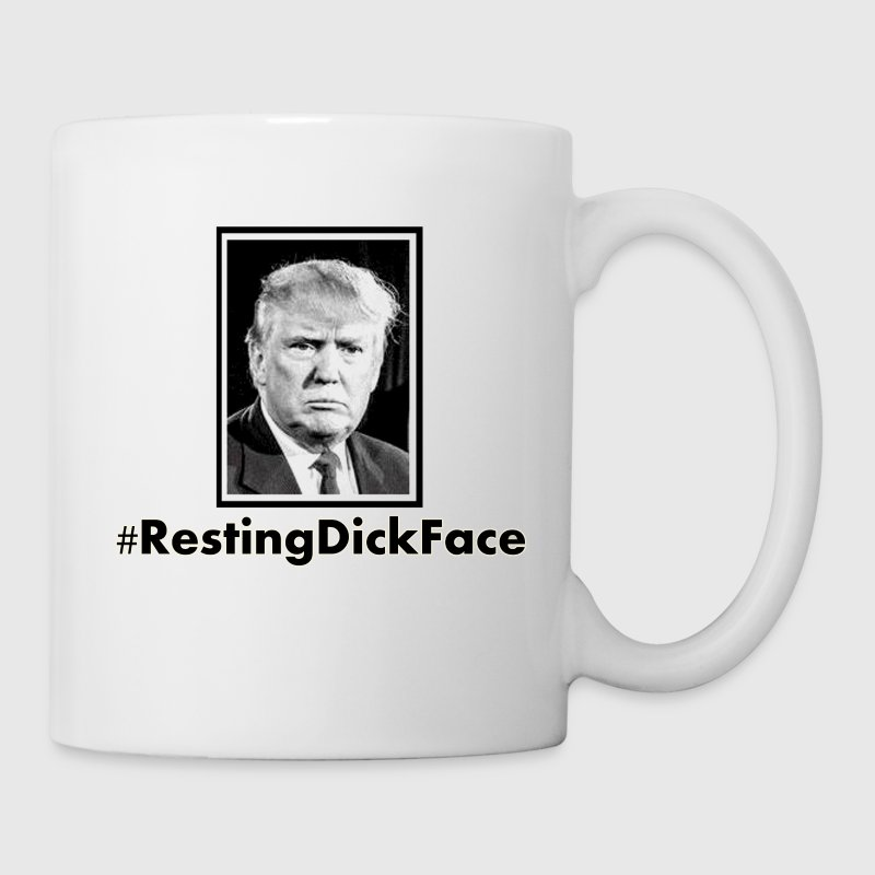 Trump: Resting Dick Face - Coffee/Tea Mug
