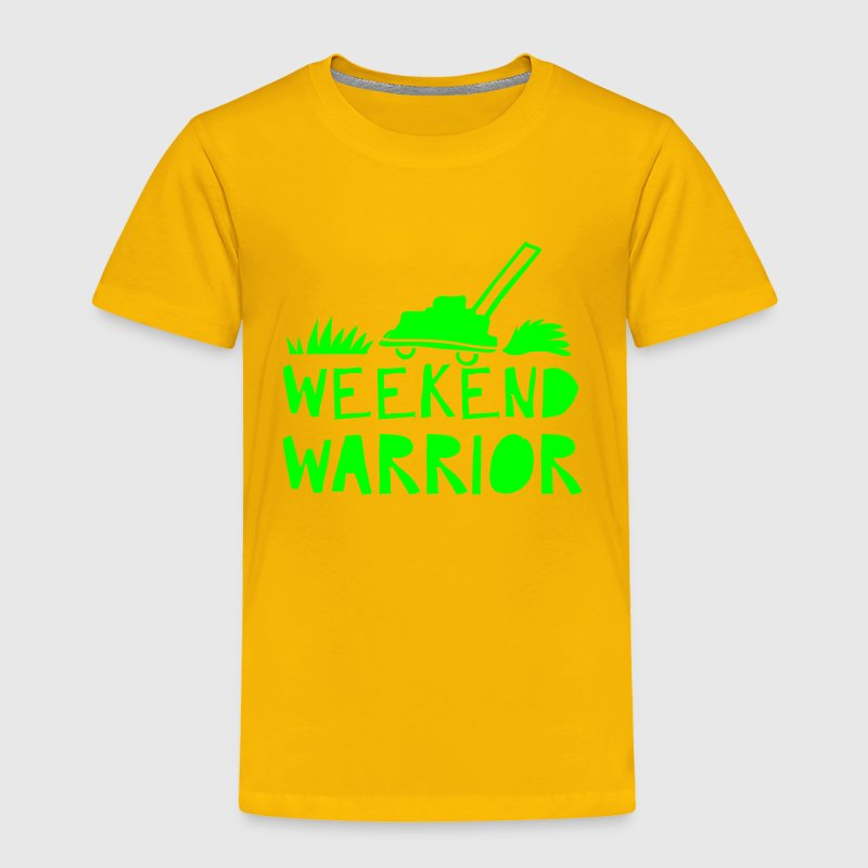 weekend warrior Baby & Toddler Shirts - Toddler Premium T-Shirt