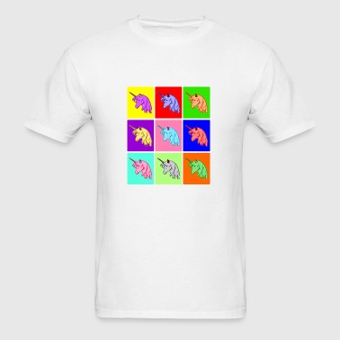 Pop Art Unicorn Phone & Tablet Cases - Men's T-Shirt