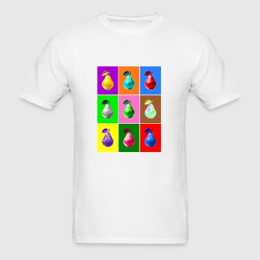 Pop Art Pear Phone & Tablet Cases - Men's T-Shirt