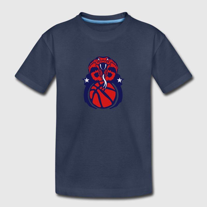Basketball Sports Club Logo Cobra Snake T Shirt Spreadshirt