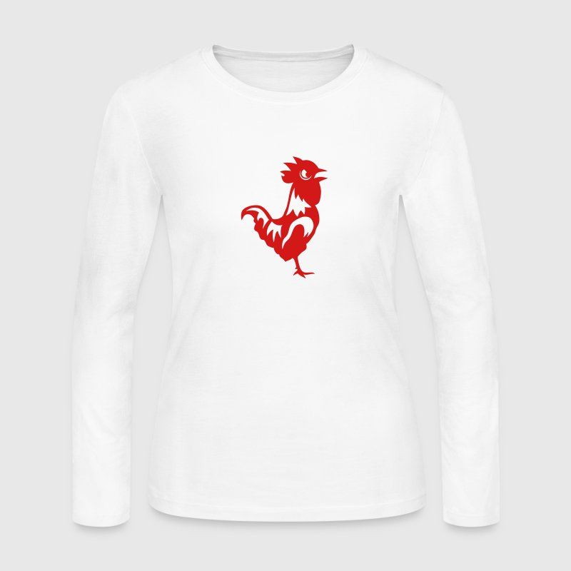 cock big head 8 Long Sleeve Shirts - Women's Long Sleeve Jersey T-Shirt