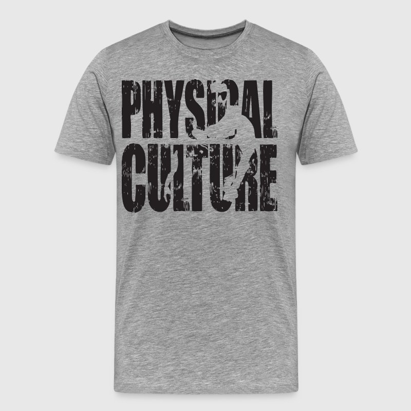 Physical Culture - Strong Man Iconic T-Shirts - Men's Premium T-Shirt
