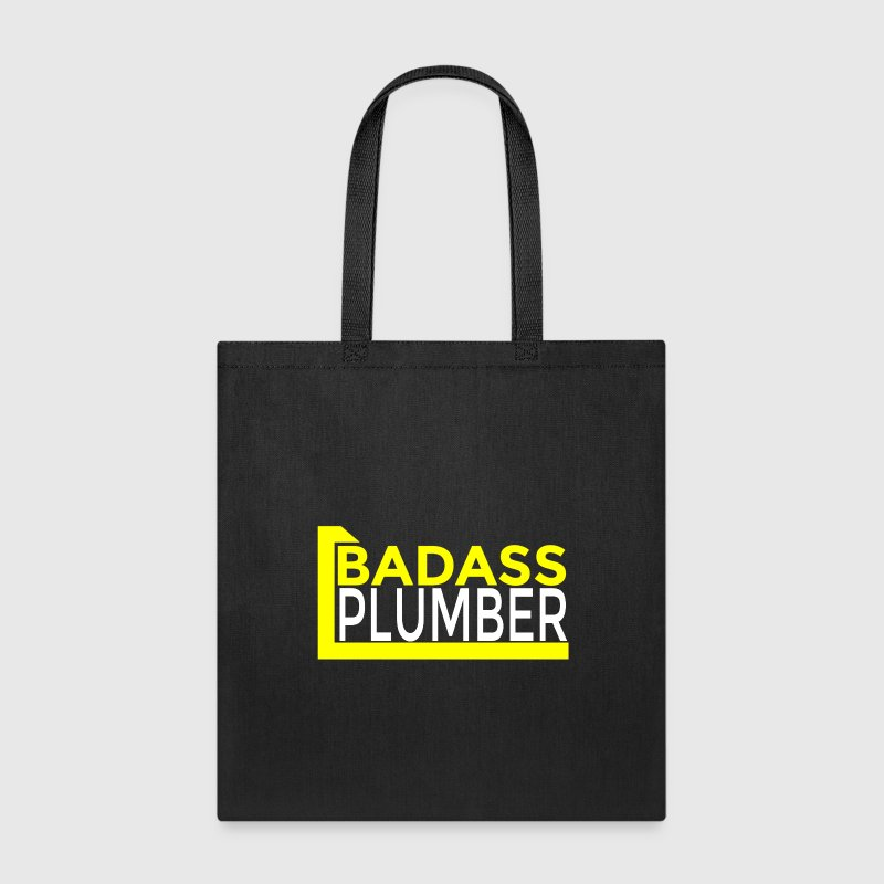 BADASS PLUMBER Bags & backpacks - Tote Bag
