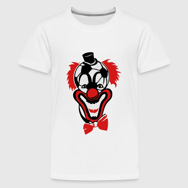 clown nose red soccer ball bow Kids' Shirts - Kids' Premium T-Shirt