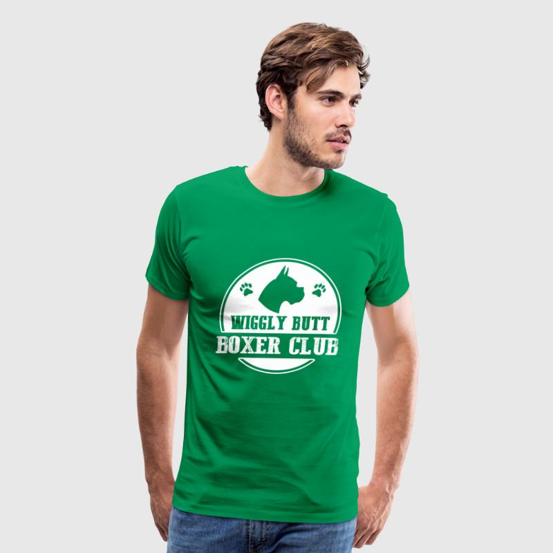 boxer- wiggly butt boxer club - Men's Premium T-Shirt