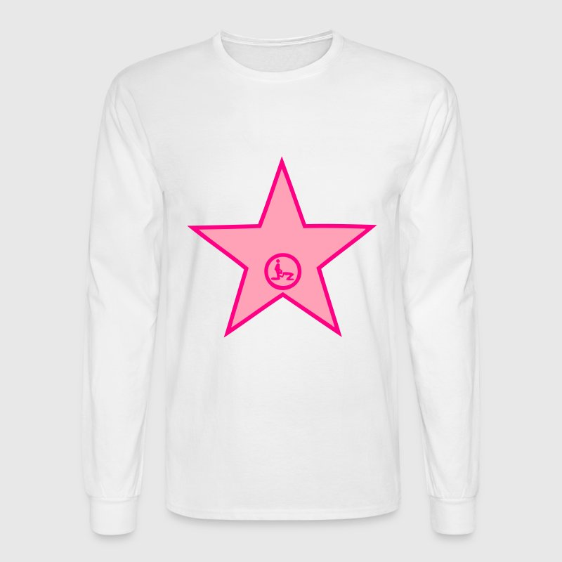 star porn Long Sleeve Shirts - Men's Long Sleeve T-Shirt