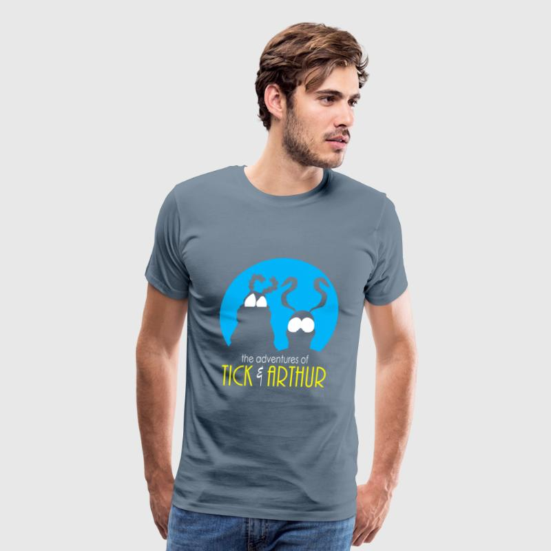 Tick and Arthur - Arthur Cartoon - Men's Premium T-Shirt