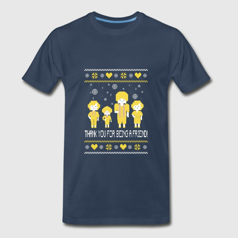The golden girls - Thank you for being a friend - Men's Premium T-Shirt