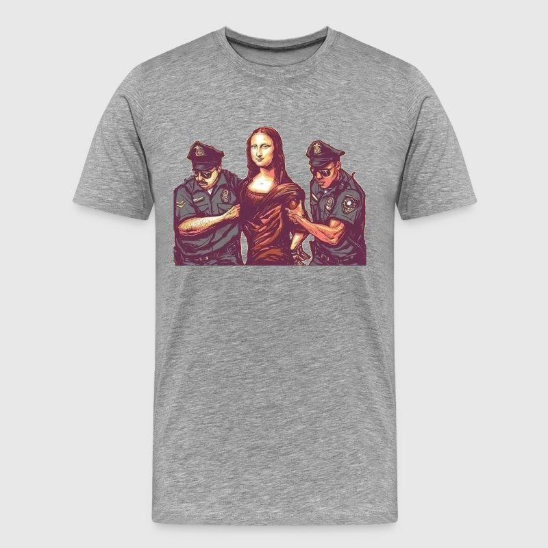 Mona Lisa - Men's Premium T-Shirt