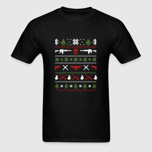 Military-Military guns awesome christmas sweater T-Shirt | Spreadshirt
