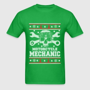 Motorcycle mechanic-Mechanic christmas sweater T-Shirt | Spreadshirt