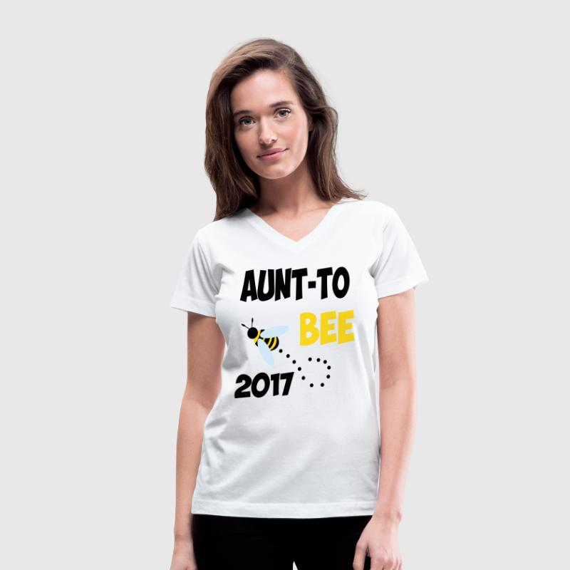 AUNT - Women's V-Neck T-Shirt