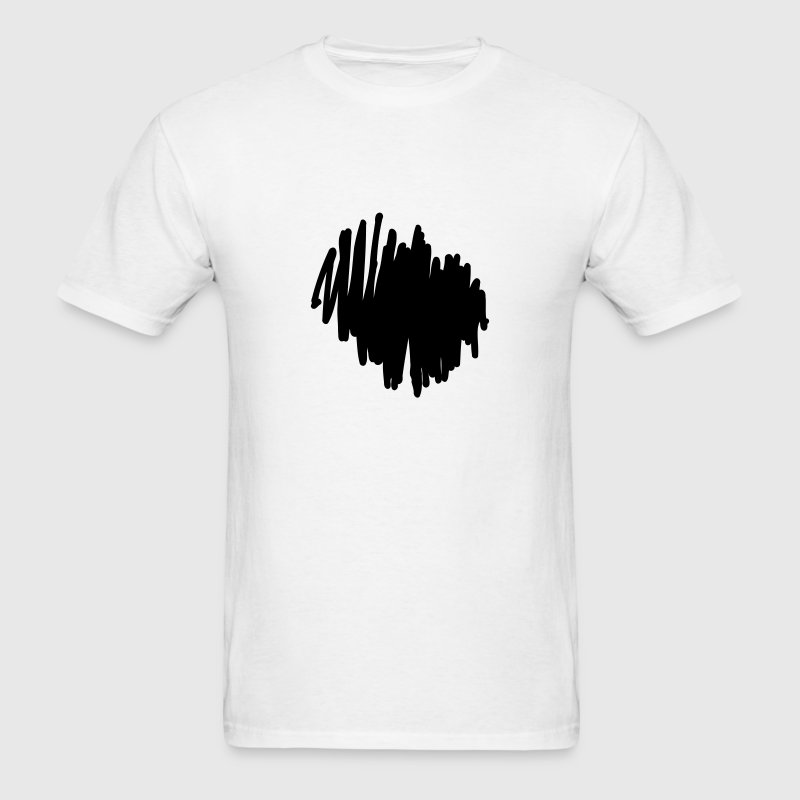Marker Scribble Background T-Shirts - Men's T-Shirt