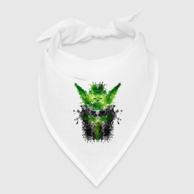 Rorschach Yoda - Watercolor Rorschach Phone & Tablet Cases - Bandana