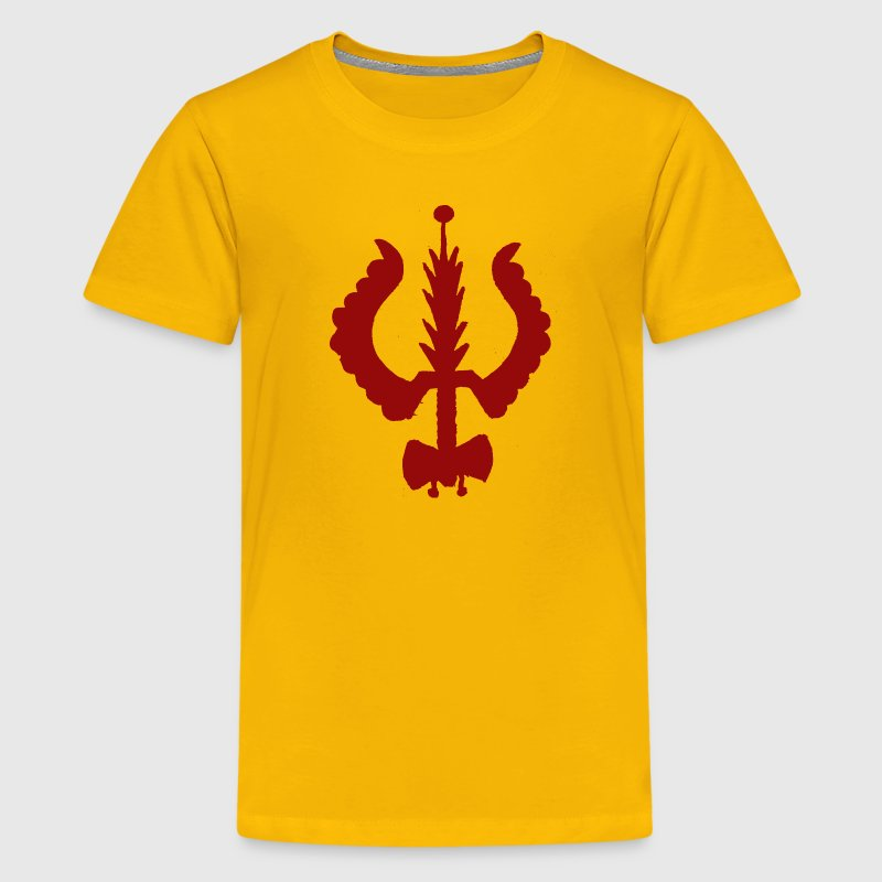 Trishul and Drum Kids' Shirts - Kids' Premium T-Shirt