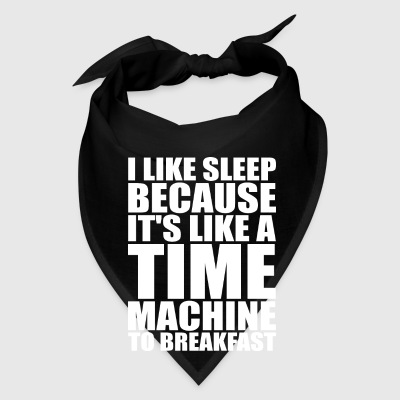 Sleep Is Like A Time Machine To Breakfast Mugs & Drinkware - Bandana