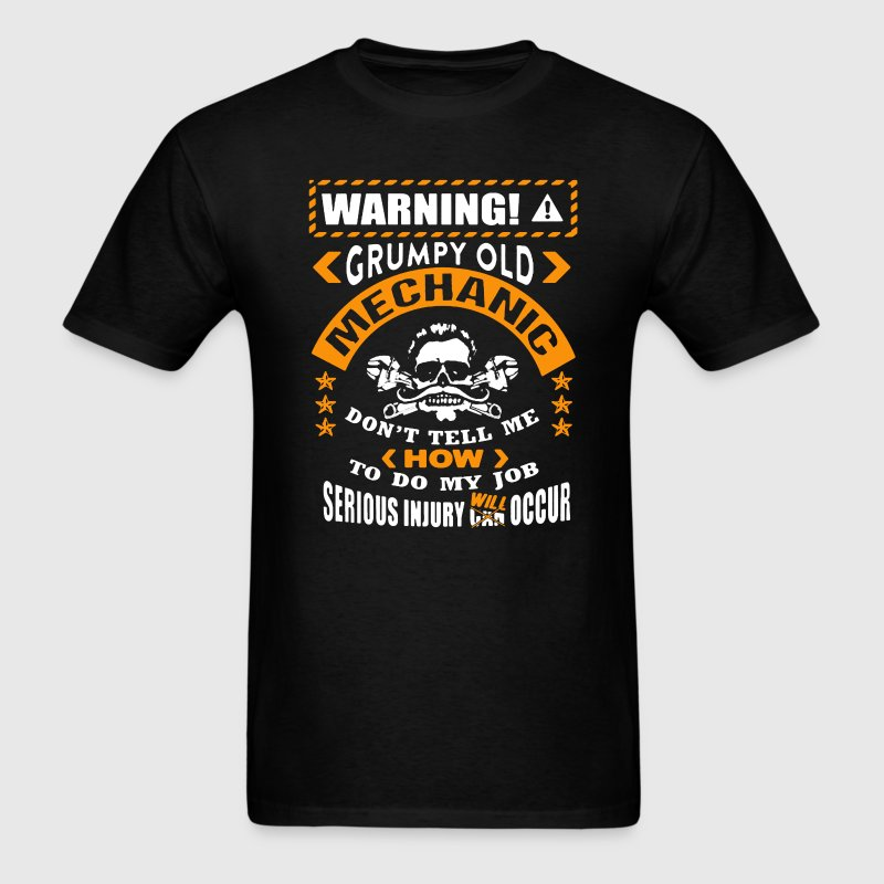 Grumpy Old Mechanic - Men's T-Shirt